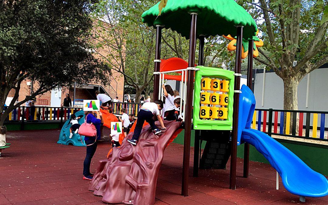 Construcción de parque infantil para colegio