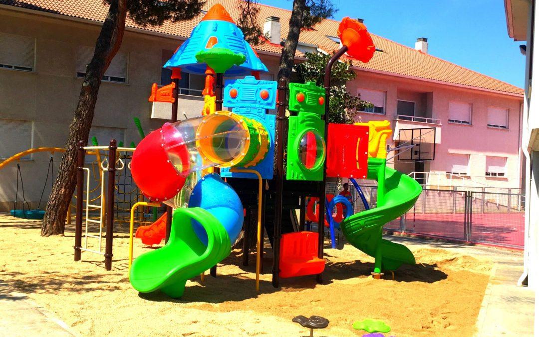 Diseño e instalación de parque de toboganes