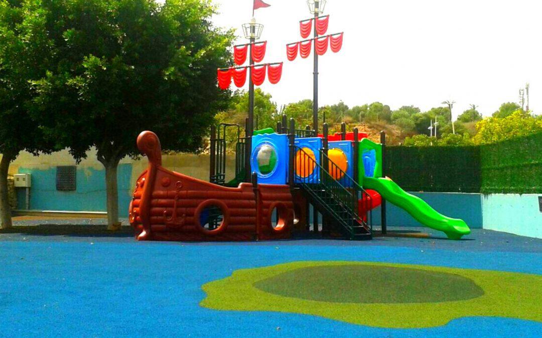 Proyecto de parques infantiles