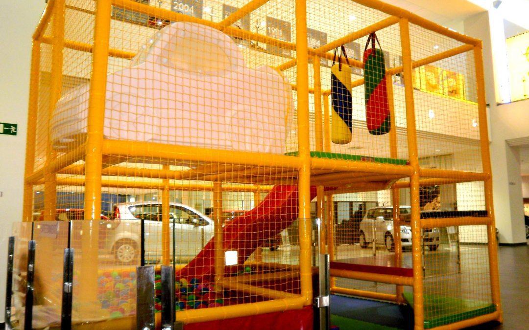 Parques infantiles para concesionarios