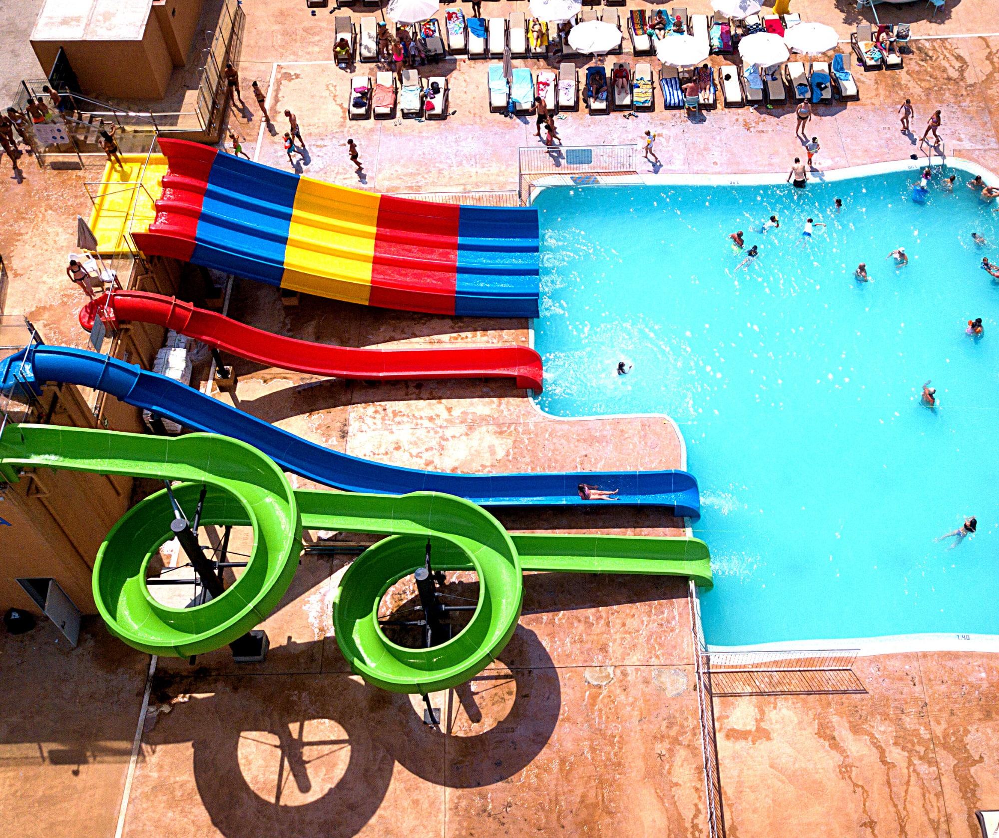 Parques acuáticos para hoteles