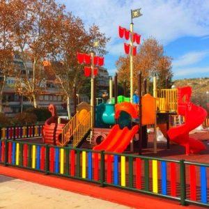 Parques exteriores para zonas urbanas