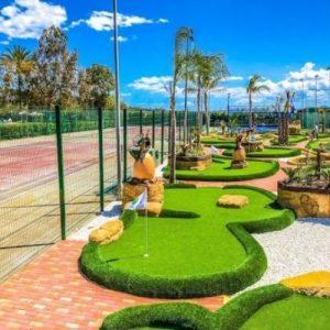 Instalación de Minigolf tematizado Devesa Gardens