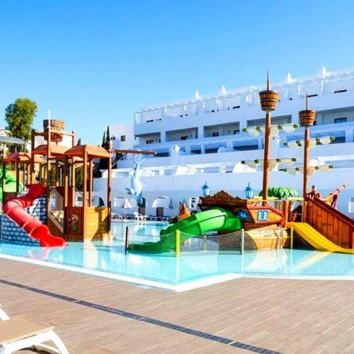 Instalación piscina infantil Best pueblo indalo