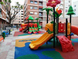 parque infantil mislata